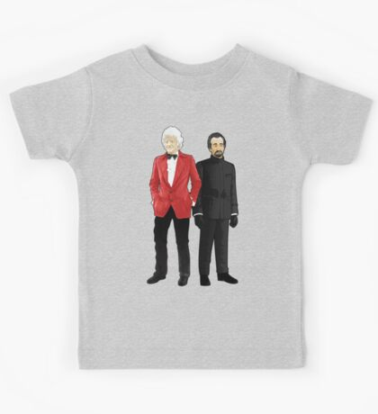 Doctor Who - Third Doctor and The Master Kids Tee