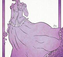 Rose Bride by RyanIncandenza