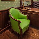 comfortable green chair by mrivserg
