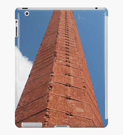 hexagon industrial  smokestack iPad Case/Skin