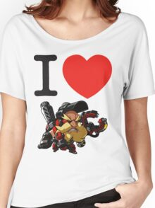 I Heart Torbjorn Cute Spray Women's Relaxed Fit T-Shirt