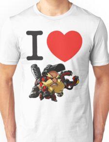 I Heart Torbjorn Cute Spray Unisex T-Shirt