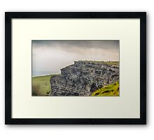 Cliffs of Moher, County Clare, Ireland 3 Framed Print