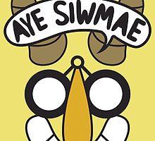 Aye Siwmae - Helm of Goofy Smiles by mayorhats
