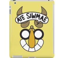 Aye Siwmae - Helm of Goofy Smiles iPad Case/Skin