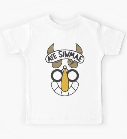 Aye Siwmae - Helm of Goofy Smiles Kids Tee