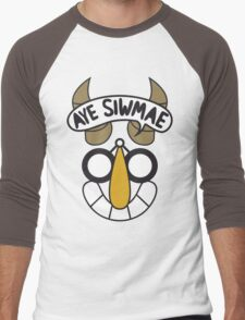 Aye Siwmae - Helm of Goofy Smiles Men's Baseball ¾ T-Shirt