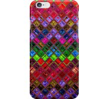 Stained Glass Mosaic Pattern Abstract Art iPhone Case/Skin