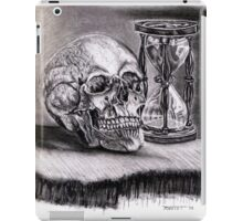 Still Life of a Countdown to a Still Life iPad Case/Skin