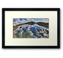Dam Sydney - Mirror Reflection - Panorama Framed Print