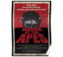 Dawn of the Apes poster parody Poster