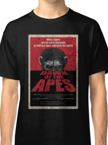 Dawn of the Apes poster parody Classic T-Shirt