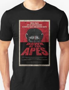 Dawn of the Apes poster parody Unisex T-Shirt
