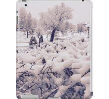 Snow... iPad Case/Skin