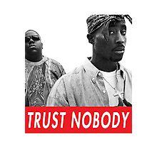 tupac and biggie Photographic Print