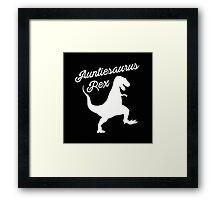 Auntiesaurus Rex  Framed Print