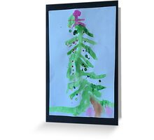 Christmas by Leo Greeting Card