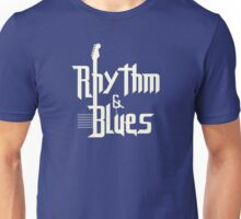 Rhythm and blues white color Unisex T-Shirt