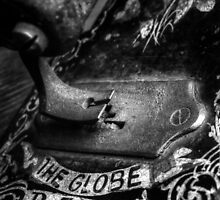 Old Sewing Machine by Ellesscee