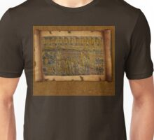 Ancient Egyptian Funerary Scroll pre 944 BC Unisex T-Shirt