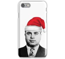 Al Capone - Merry Christmas! iPhone Case/Skin