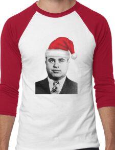 Al Capone - Merry Christmas! Men's Baseball ¾ T-Shirt