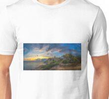 Sunset at Malladeta - panorama Unisex T-Shirt
