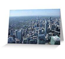 Toronto Skyscrapers Greeting Card