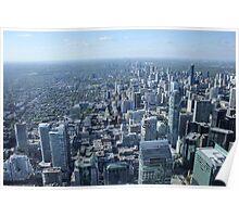 Toronto Skyscrapers Poster
