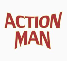 Cartoon Action Man T-Shirt Kids Tee