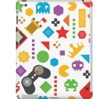 Videogame Game Pattern iPad Case/Skin
