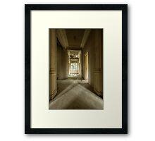 Interzone Framed Print
