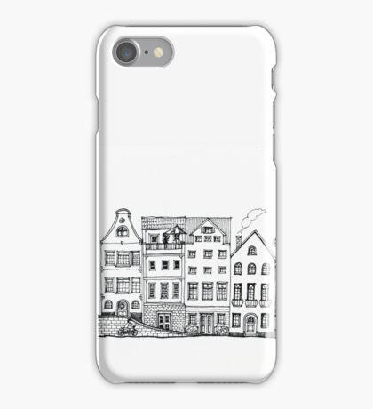 Midtown Bridge Drawing iPhone Case/Skin