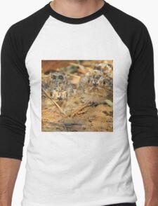 Sand Grouse Camouflage - Natural Beauty Men's Baseball ¾ T-Shirt