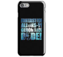 All 4 Doctors catchphrase T-shirt iPhone Case/Skin