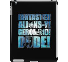 All 4 Doctors catchphrase T-shirt iPad Case/Skin