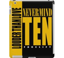 Nevermind Ten Facelift Louder than the Sound Grunge albums iPad Case/Skin