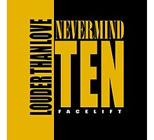 Nevermind Ten Facelift Louder than the Sound Grunge albums by jorgebld