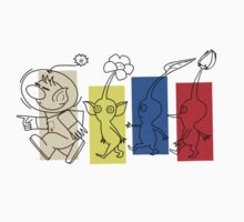 Pikmin Trails Baby Tee