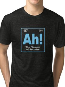 The element of surprise Tri-blend T-Shirt