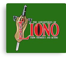 The Adventures of Liono Canvas Print