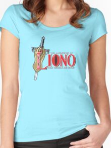 The Adventures of Liono Women's Fitted Scoop T-Shirt