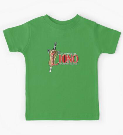 The Adventures of Liono Kids Tee