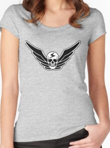 Street Fighter  - Shadaloo  Women's Fitted Scoop T-Shirt