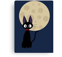 Jiji the Cat Canvas Print