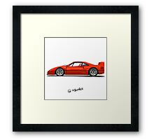 Dreamcar from the childhood Framed Print