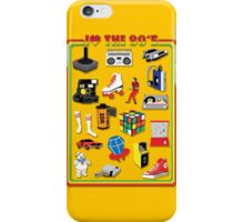 I LOVE THE 80'S iPhone Case/Skin