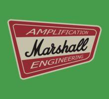 Vintage Marshall Amp  Kids Tee