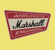 Vintage Marshall Amp  Baby Tee