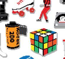 I LOVE THE 80'S Sticker